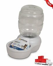 Automatic Waterer Dispenser Dog Cat Pet Drink Water Microban Bowl PET Bottle NEW