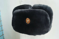 NEW Russian Army uniform hat officer fur winter - sheepskin size 58 BTK Group
