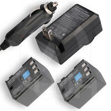 2 EXTENDED Li-Ion Battery + Charger for Canon BP-2L12 BP-2L13 BP-2L14 BP2L14 NEW