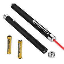 RED LASER PEN POINTER GADGET CAT TOY PET BEAM 1MW LIGHT LED ULTRA SHINE