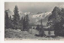 Engelberg Blick Von der Arnialp Switzerland 1909 Postcard 282a