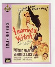 Figurina SUPERCINEMA EVENTS MAXI CARDS NUMERO 77 I MARRIED A WITCH