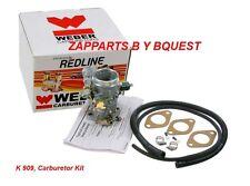 BMW 2002  Carburetor Kit WEBER REDLINE K 909, REPLACES  SOLEX 1 BARREL CARB