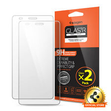 Spigen® For Huawei Honor 5X Tempered Glass Screen Protector GLAS.tR SLIM [2PACK]
