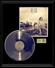 RUSH PERMANENT WAVES GOLD RECORD RARE PLATINUM DISC ALBUM LP RARE!