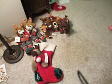 Lot of Cute Reindeer Decorations - Holiday - Christmas