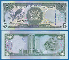 Trinidad and Tobago 5 Dollars P 47 2006 UNC Low Shipping! Combine FREE!