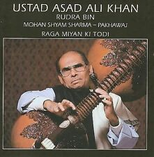 Raga Miyan Ki Todi * by Asad Ali Khan (CD, Jun-2005, India Archives)