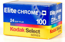 KODAK SELECT SERIES ELITE CHROME 100 ISO 35mm COLOR SLIDE FILM! REVERSAL