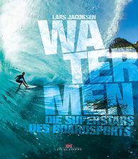 Watermen die Superstars des Boardsports SUP Board Big Wave Surfer Kiter Buch NEU