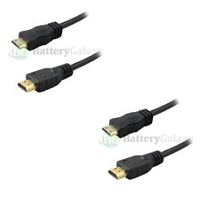 2x 6 FT Mini HDMI to HDMI Cable For Sony Canon Nikon HD