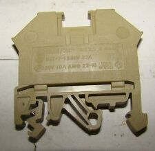 1pc. Conta Clip Type 2.5-4 Rail Mount Terminal, 4mm AWG22-10, 600V, 40A, New