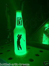 PGA Golf Beer Bottle Light LED Pub Bar Pool Man Cave Neon Bar