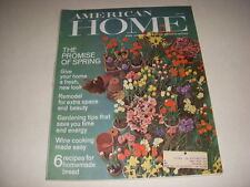 Vintage THE AMERICAN HOME Magazine, April, 1966, SPRING ISSUE, MID-CENTURY DECOR