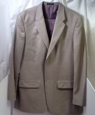 Alfani Light Green Two Button Sports Coat 100% Wool 44 Long