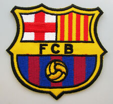 Lot 2 Pcs BARCELONA Football Soccer Club Spain embroidered patch Iron on/Sew on