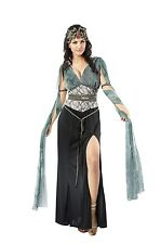 Greek Goddess Medusa Halloween Snake Fancy Dress Costume UK 10-16 P7229