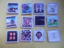 COLLECTION OF 12 PINK FLOYD ALBUM BADGES / PINS FREE DELIVERY IN THE UK