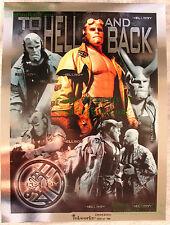 HELLBOY Inkworks Limited Edition #6 of 199 UNCUT To Hell and Back Cards NITF!