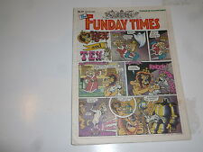 THE FUNDAY TIMES - No 47 - Date 29/07/1990 - Free Sunday Times Comic Supplement