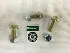 Bearmach RC43 Land Rover Defender Posteriore Trailing Arm Bush al telaio Bullone Dado &