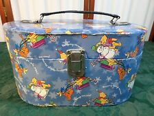 Disney Winnie The Pooh & Tigger Christmas Designed Handled Make-Up/Storage Case
