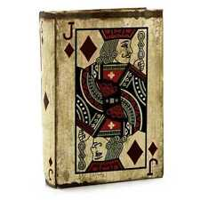 """VERY COOL COLLECTIBLE """"JACK OF DIAMONDS"""" PLAYING CARD BOOK STORAGE BOX"""