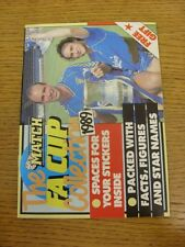 1989 Match: The FA Cup Collection 1989 - Complete With All Stickers Laid Down. B