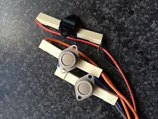 Indesit IDCA835 condenser tumble dryer rear thermostats