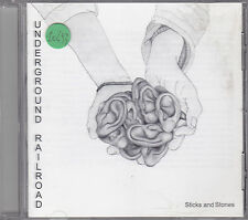 UNDERGROUND RAILROAD - sticks and stones CD