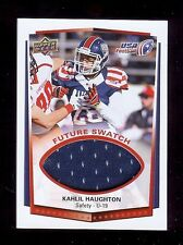 Kahlil Haughton - Oklahoma Sooners 2015 Usa Football Gu *Future Swatch* Rc