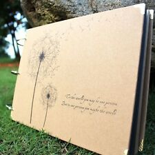"""Dandelion"" DIY Travel Photo Album Baby Mommy Book Wedding Polaroid Album Gift"
