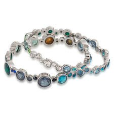 Carolee Silver-Tone Multicolor Bubble Bracelet Set NWT $75