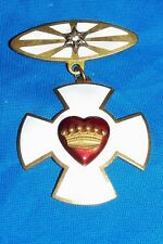 Odd Fellows Patriarchs Knights Templar Medal Masons Freemasonry Diamond Cross