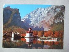 Postkarte, Ansichtskarte, Bayern, Königssee,St. Barholomä,Watzmann,unbeschrieben