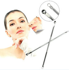 2X Stainless Acne Blackhead Spot Pimple Remover Extractor Removal Tool Cleanser