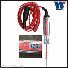 Werkzueg - 12 - 24 Volt Digital Circuit Tester With LCD Display- Pro - 1126-1
