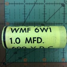 CORNELL DUBILIER AXIAL FILM CAPACITOR 1uF 600v 10% WMF6W1 1mfd AUDIO