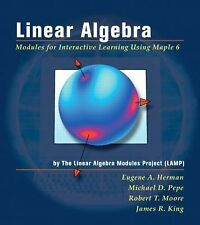 Linear Algebra: Modules for Interactive Learning Using Maple