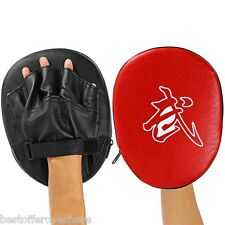New 1pcs Focus Boxing Punch Mitts Training Pad for MMA Karate Muay Thai Kick