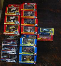 mixed lot of 15 cars New, Matchbox,Amoco Ert,l SR3,Super Wheels free US shipping