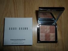 BOBBI BROWN BRIGHTENING FINISHING POWDER * BRONZE GLOW * NIB .23 oz / 6.6 g