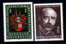 AUSTRIA - 1970 - Cinquantenario del plebiscito della Carinzia - Centenario della