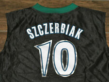 WOMENS REEBOK WALLY SZCZERBIAK MINNESOTA TIMBERWOLVES JERSEY NEW L LARGE BLACK
