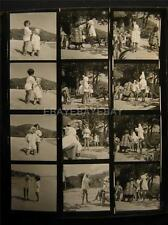 1951 Virgin Islands Fashion VINTAGE CONTACT SHEET By Milton Greene 687H