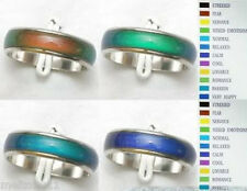 100pc lot Magic Emotion Feeling Color Changable Mood mixed Rings MC1977*