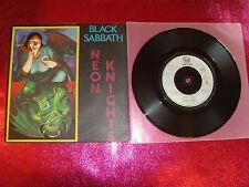 BLACK SABBATH-NEON KNIGHTS-7'' EX+/EX/SAB 3/A1-B1/1980 UK