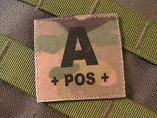 Patch Velcro ..:: A + POS + ::.. MULTICAM