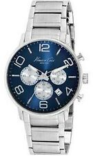 Reloj de Pulsera Kenneth Cole Nuevo York Hombre Kc9305 Deporte con Cuadrante Azul