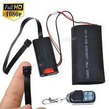 HD 1080P DIY Module DV SPY Hidden Camera Video Buttons Disguise Remote Control